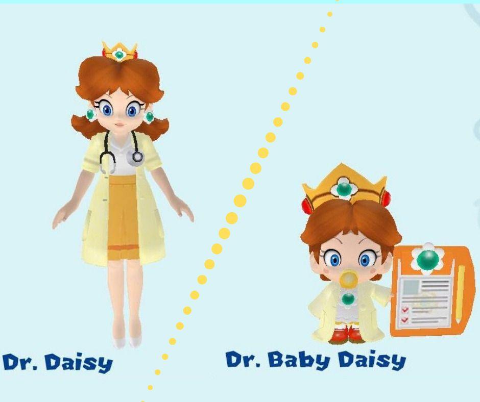 Daisy and Baby Daisy in.