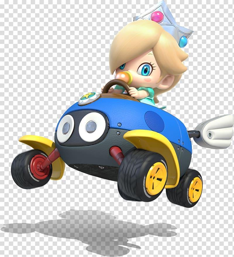 Mario Kart 8 Rosalina Luigi Toad, mario transparent.