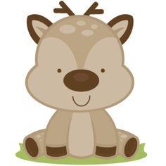 Baby Deer Clip Art.