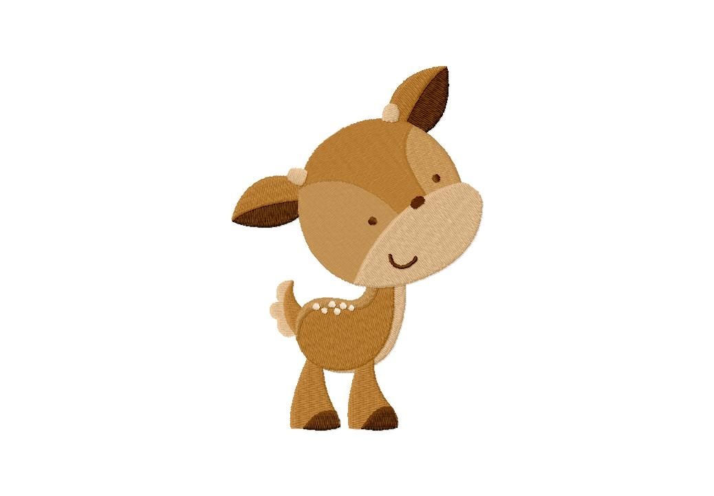 Showing post & media for Cartoon baby deer clip art.
