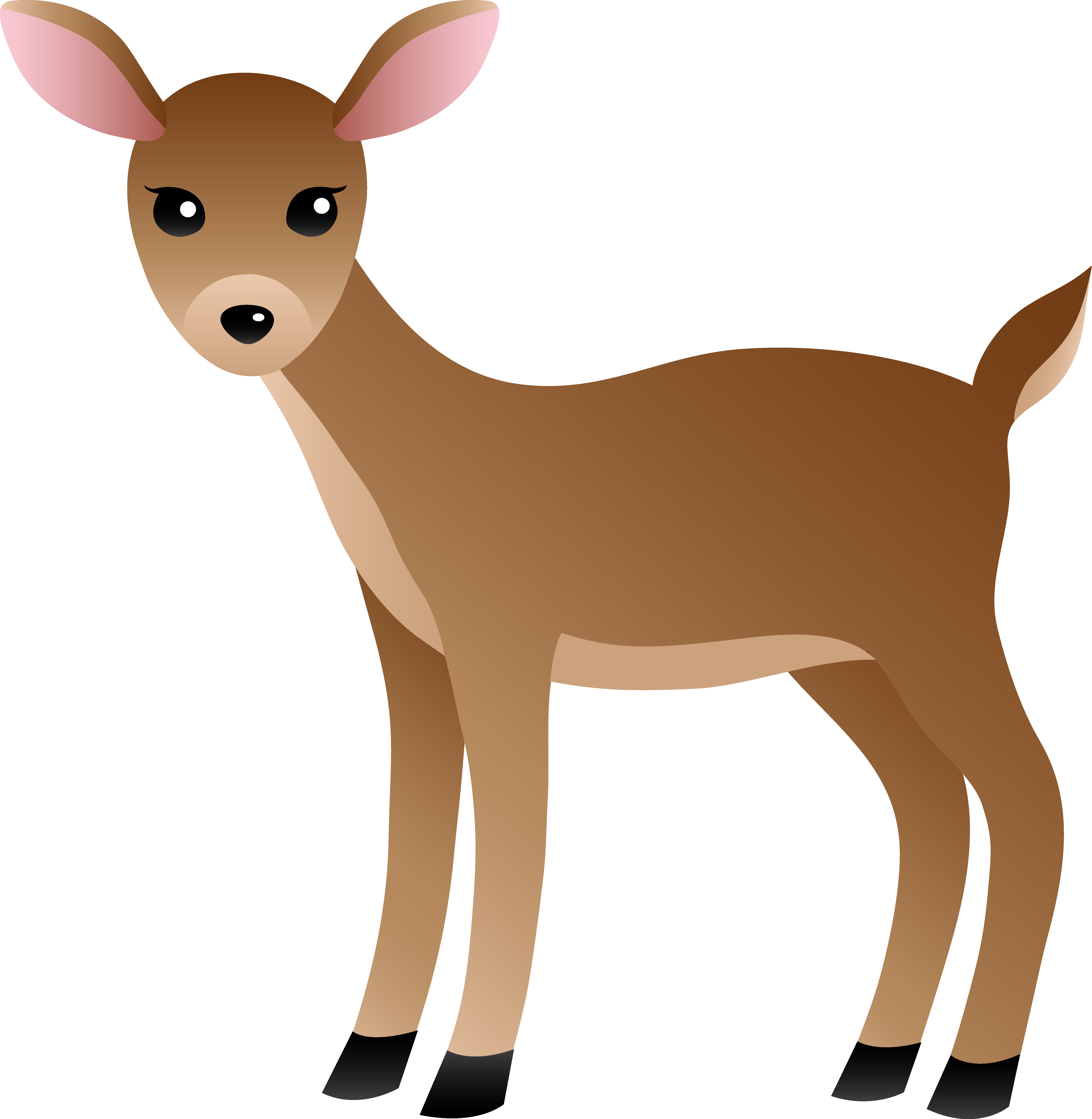 Baby deer clipart sad images gallery for Free Download.