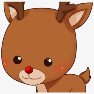 Reindeer Clipart Cute.