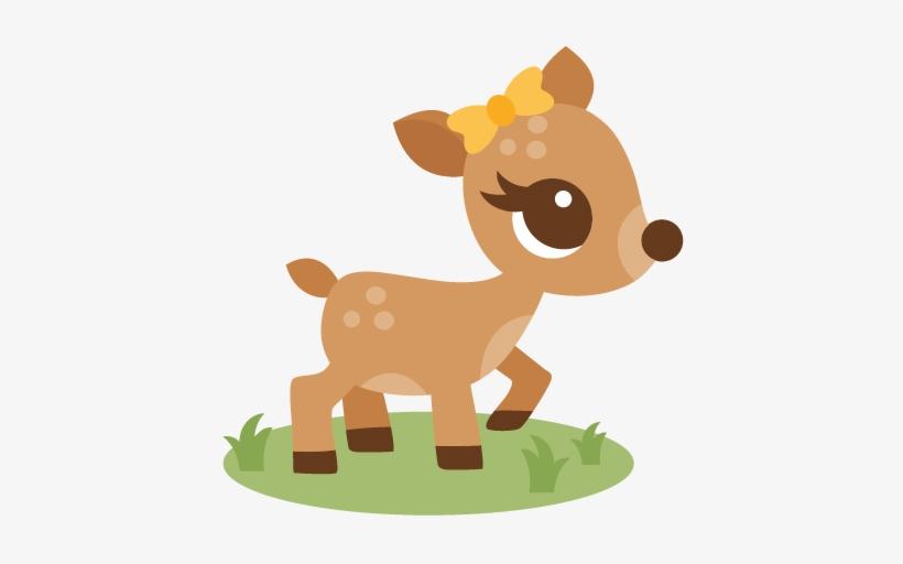 Deer Transparent Cute.