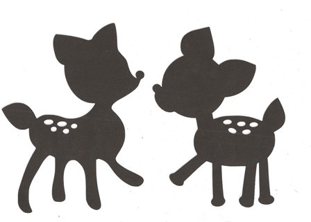 Free Baby Deer Silhouette, Download Free Clip Art, Free Clip.