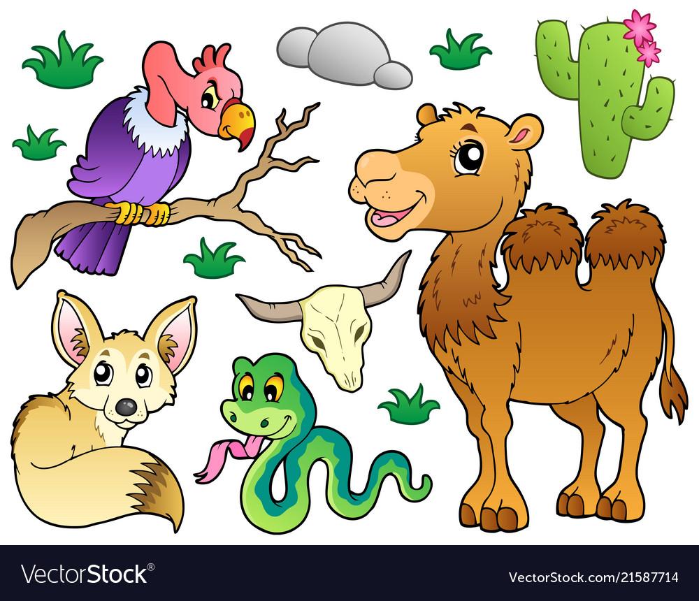 Desert animals collection 1.