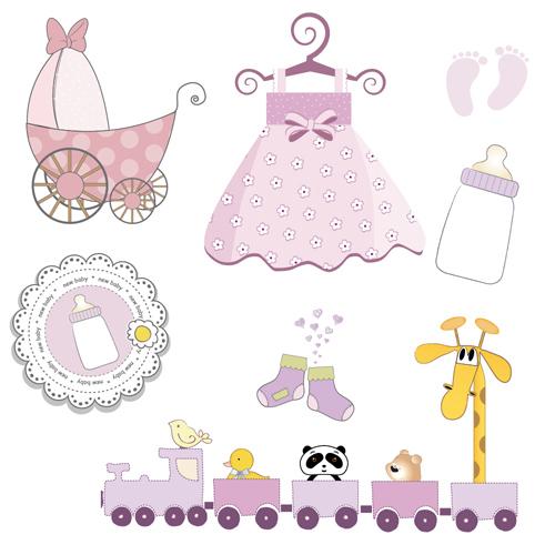 Cartoon baby clipart cute design 04 free download.