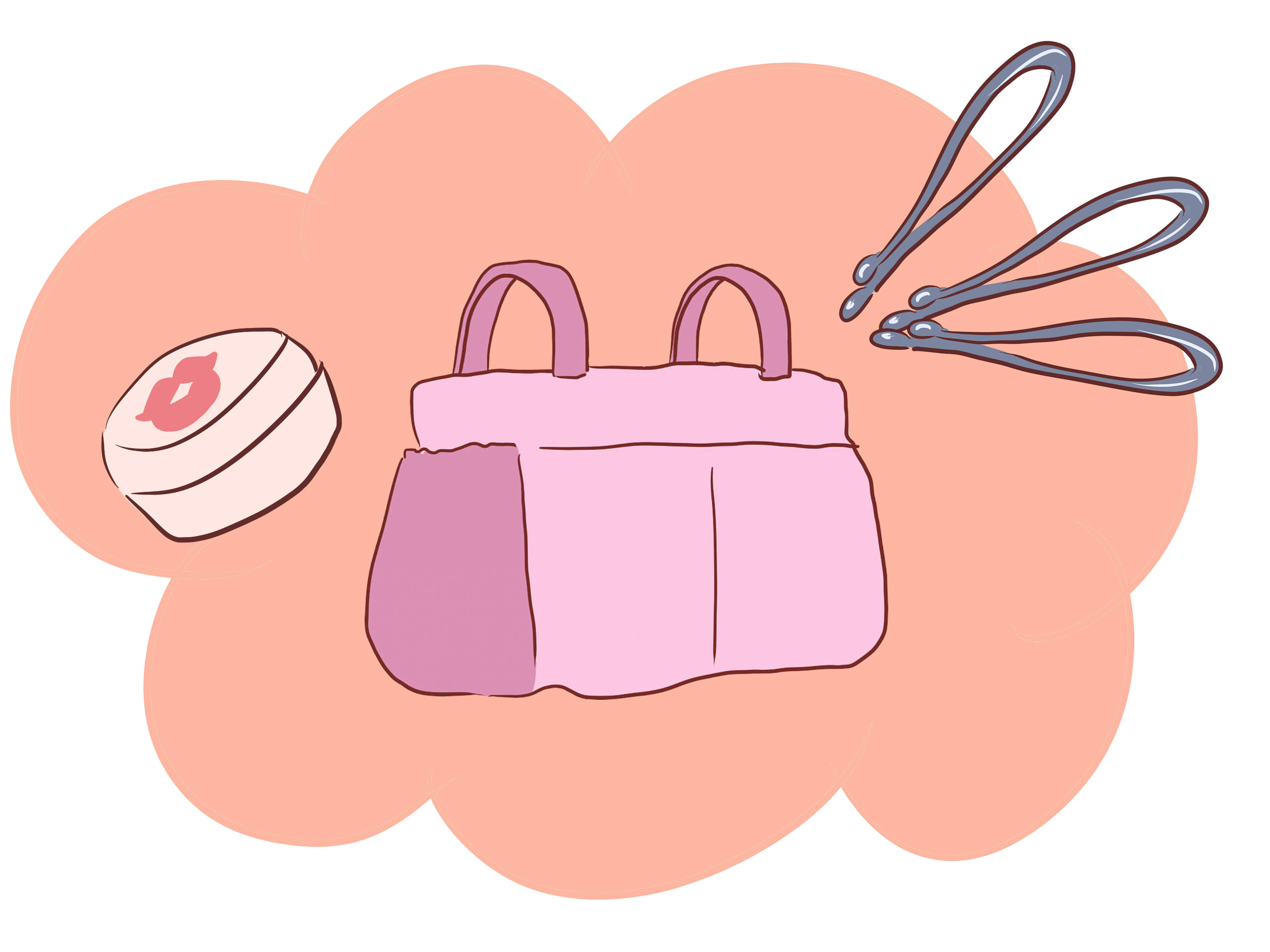 Bag clipart diaper bag, Bag diaper bag Transparent FREE for.