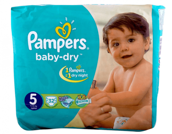 Pampers Baby Diapers.