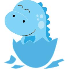 Baby Dinosaur Clipart.