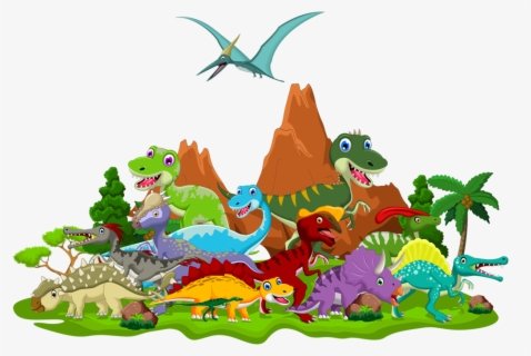 Free Baby Dinosaur Clip Art with No Background.