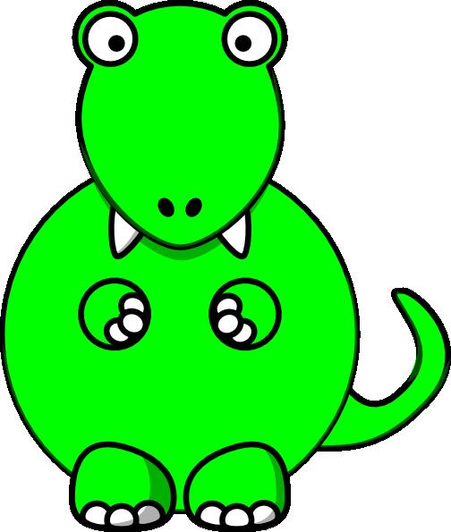 Dinosaur Footprint Template.