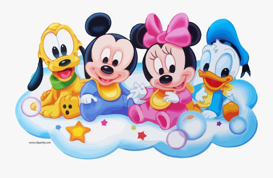 Walt Disney Babies Clipart Page.