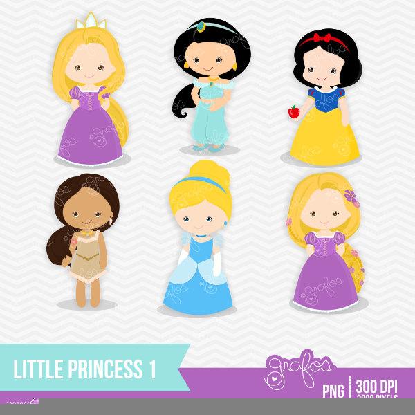 Baby Disney Princesses Clipart.