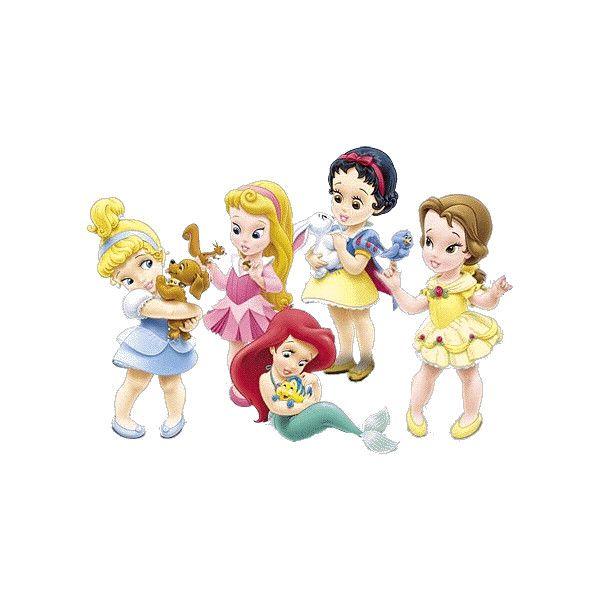 Walt Disney Little Princesses Clipart.