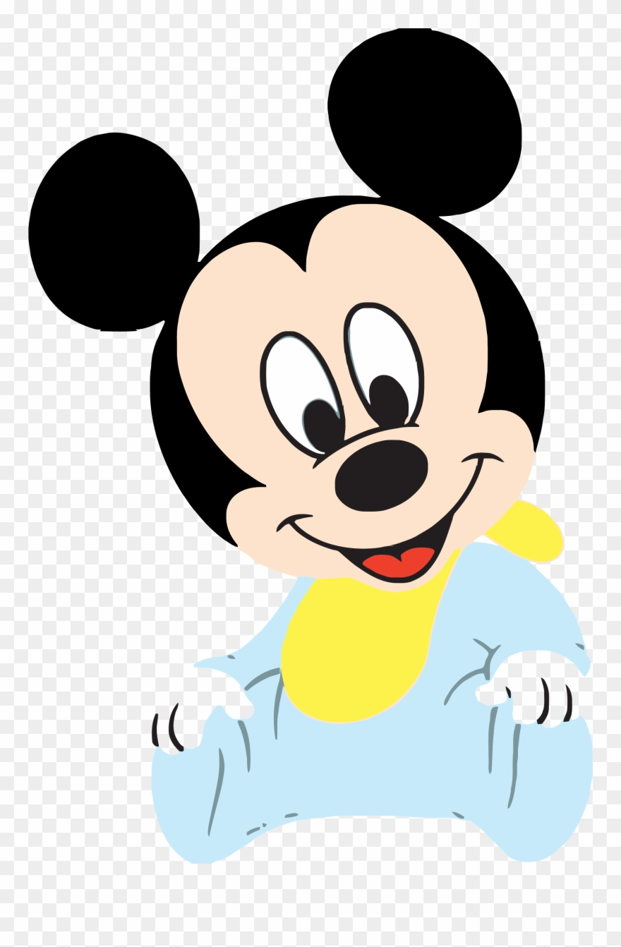 Good Baby Mickey Clipart Png.