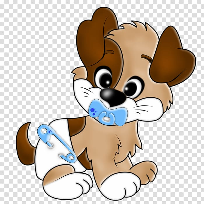Puppy Cartoon Drawing , Dog baby transparent background PNG.