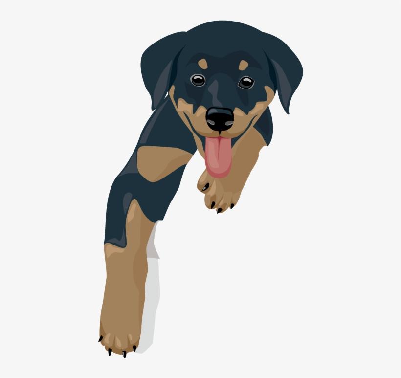 Kawaii Dog Clipart.