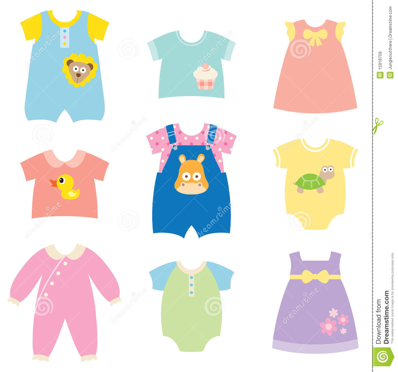Pajamas clipart baby doll clothes, Pajamas baby doll clothes.