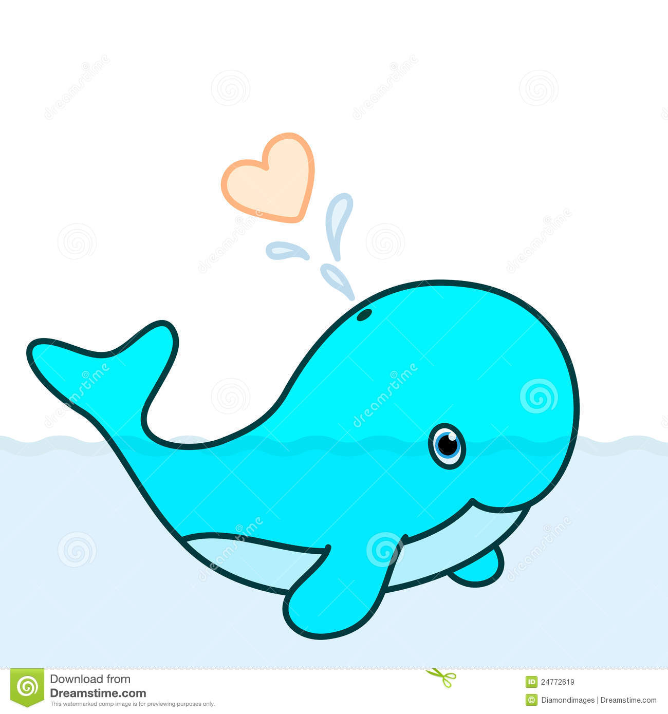 Cute baby dolphin clipart 5 » Clipart Station.