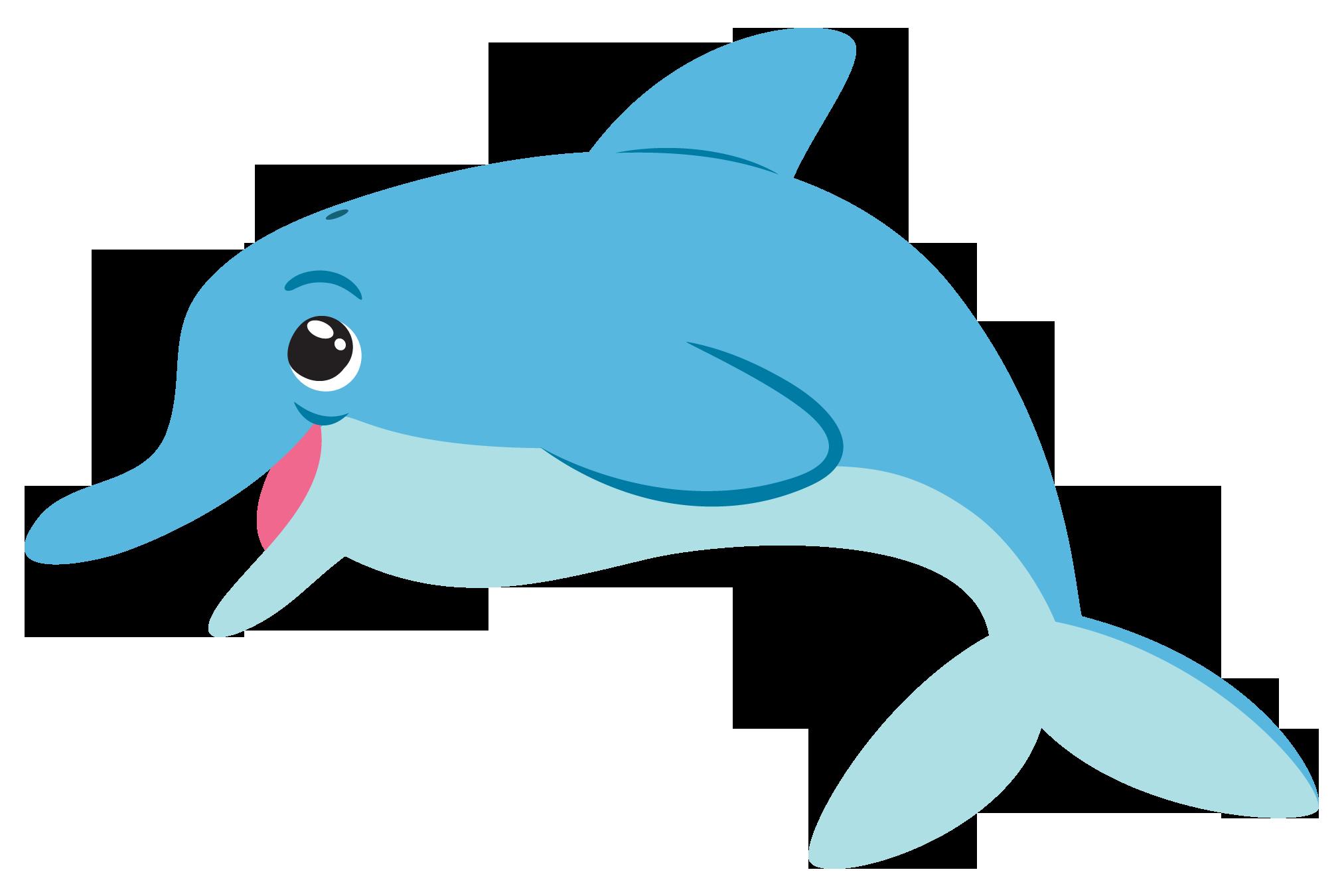 Dolphin Clip Art Free.