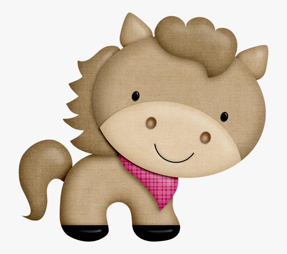 Stuffed Farm Animal Clipart.