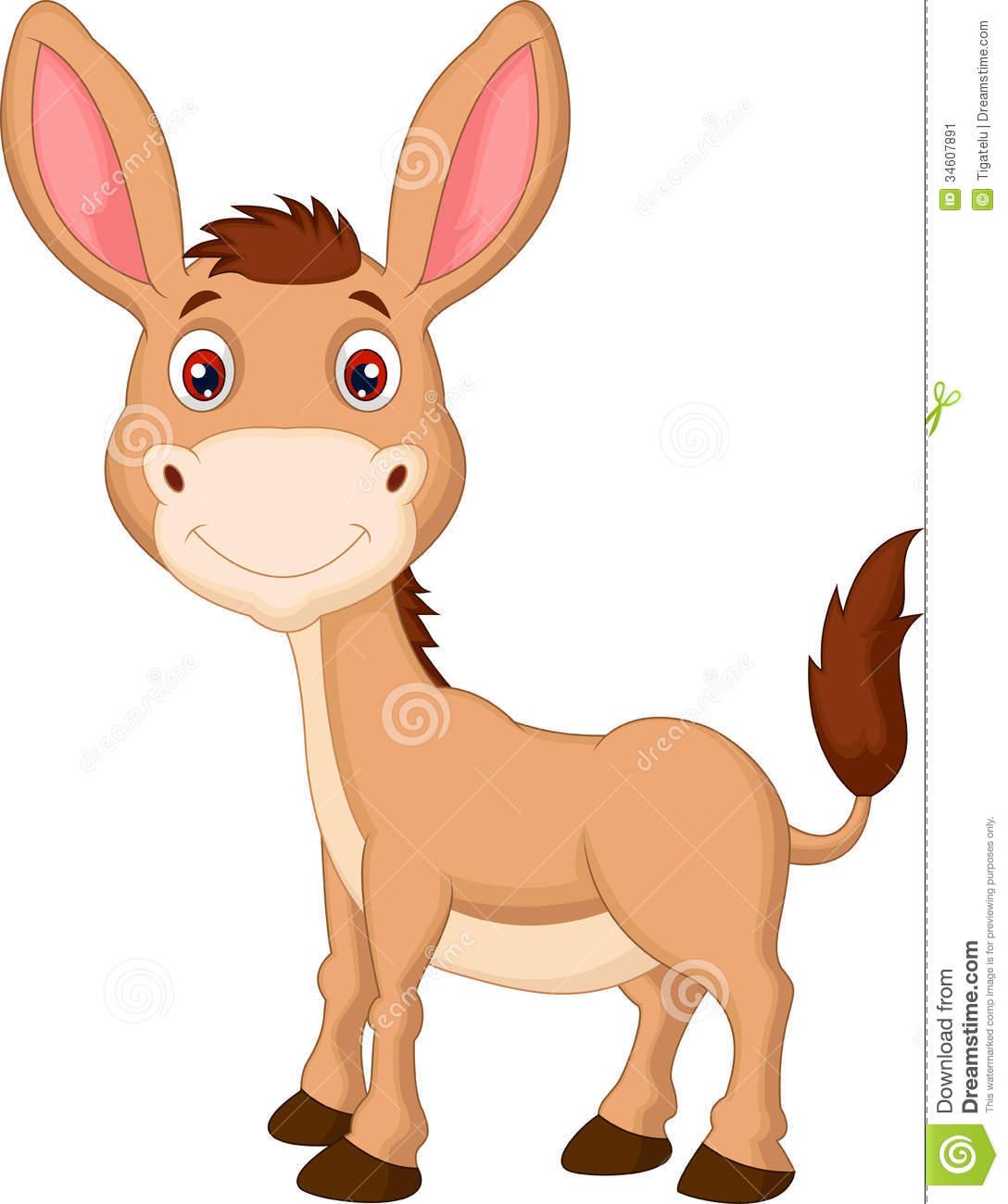2106 Donkey free clipart.