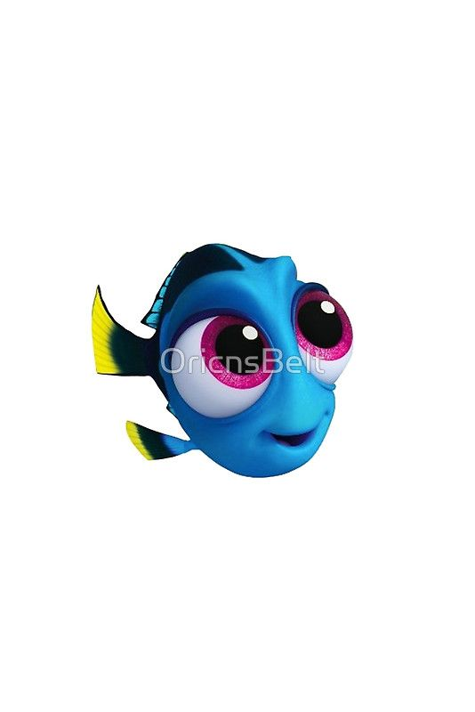Baby Dory\' Sticker by OricnsBelt in 2019.