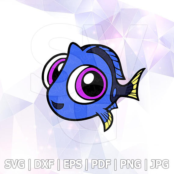 Pin on Finding Dory Nemo SVG.