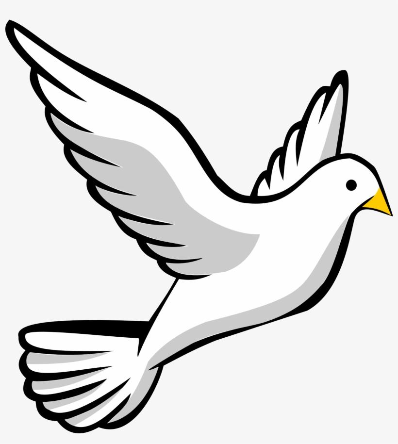 Religious Dove Clip Art.