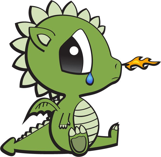 Baby dragon clipart 2 » Clipart Station.