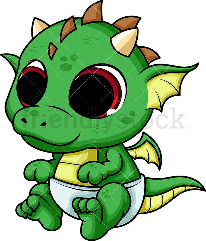 Cute Baby Dragon.