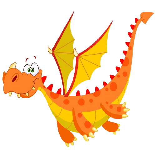 Cute Cartoon Baby Dragon Clip Art Images Are On A.