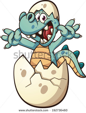 Dinosaur Egg Stock Images, Royalty.