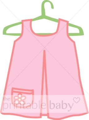Pink Dress Clipart.