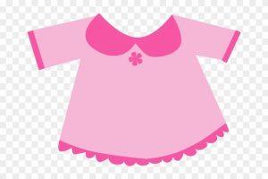 Pink baby dress clipart 3 » Clipart Portal.