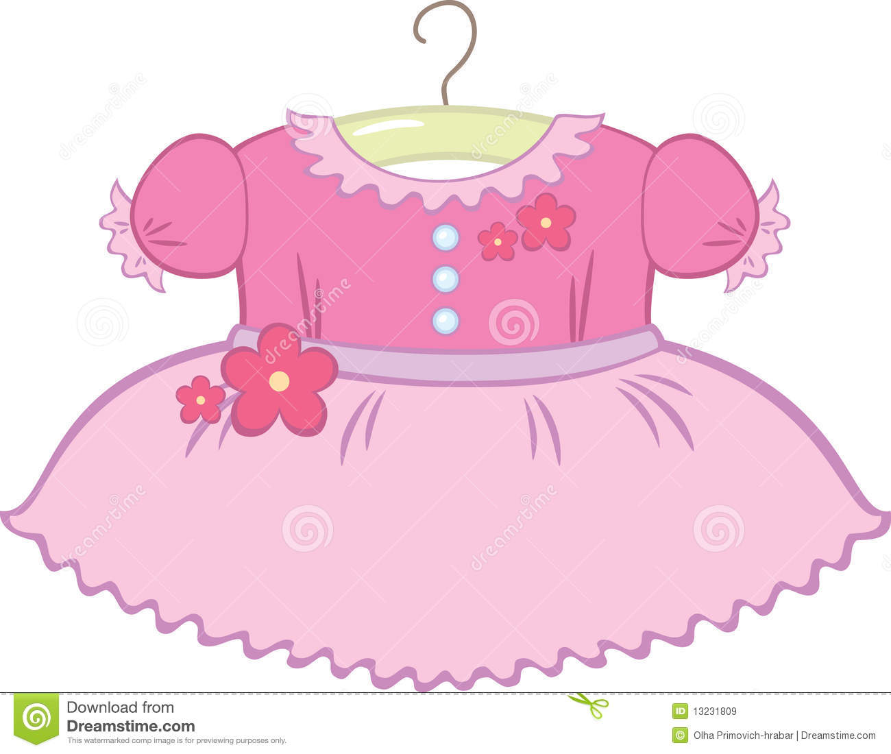 Baby dress clipart 2 » Clipart Station.