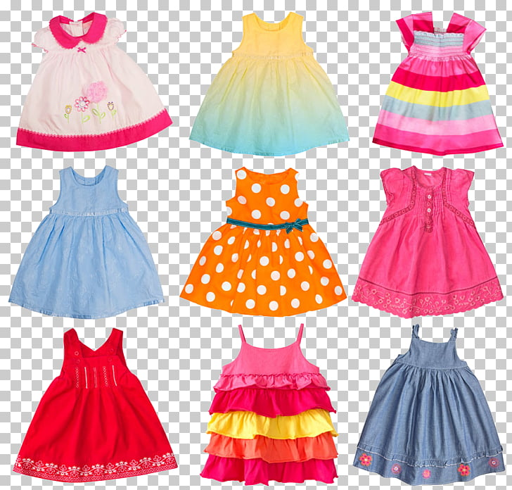 Infant Dress Stock photography Girl Child, Baby clothes.