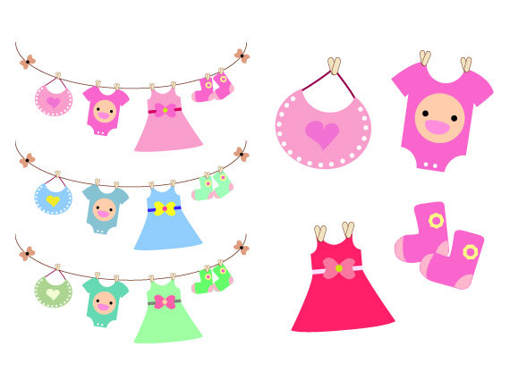Baby dress clipart 1 » Clipart Station.