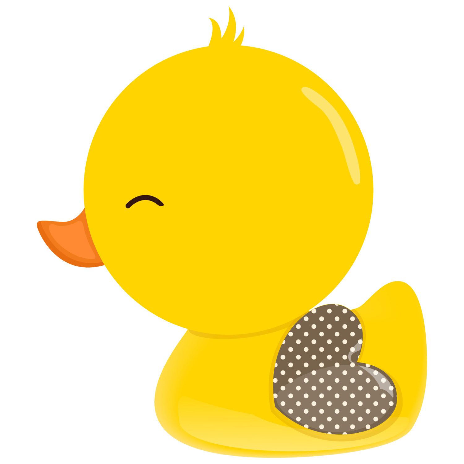 Rubber duck clipart ducky baby.