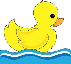Baby Duck Clip Art.