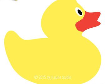 410 Rubber Duck free clipart.