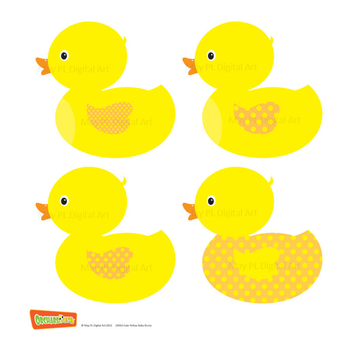 Baby Duck Free Clipart.