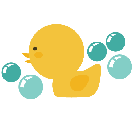 Baby Rubber Duck Clipart.