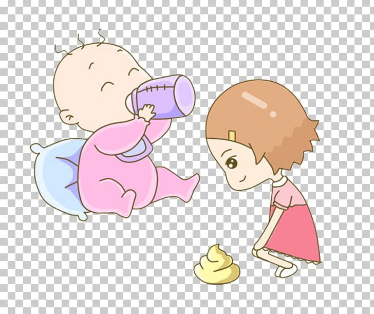 Milk Infant Baby Bottle Eating PNG, Clipart, Baby, Boy, Cartoon.