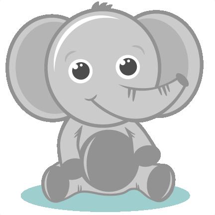 Baby Elephant Clip Art & Baby Elephant Clip Art Clip Art Images.
