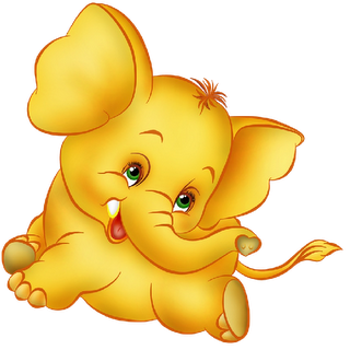 Pix For Cute Baby Elephants Clipart.