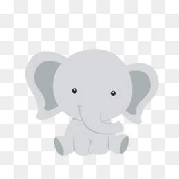 Baby Elephant PNG.