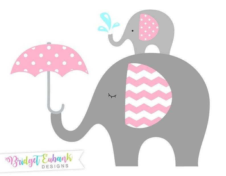 Elephant clipart Baby elephant clipart Elephant clip art.