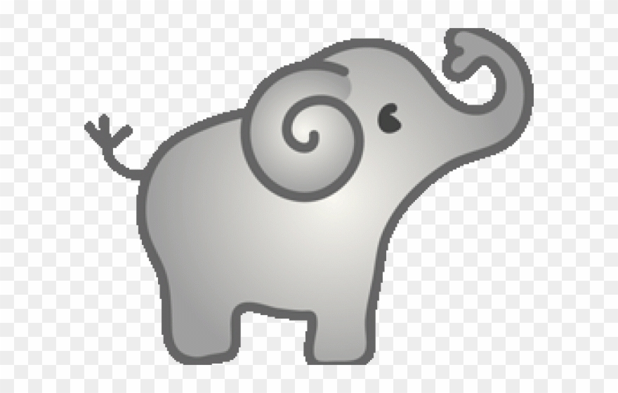 Baby Elephant Clipart.