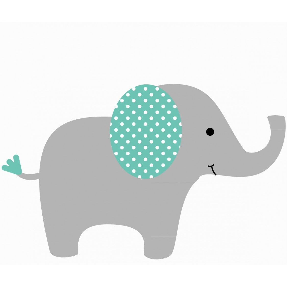 Free Baby Elephant Clipart.